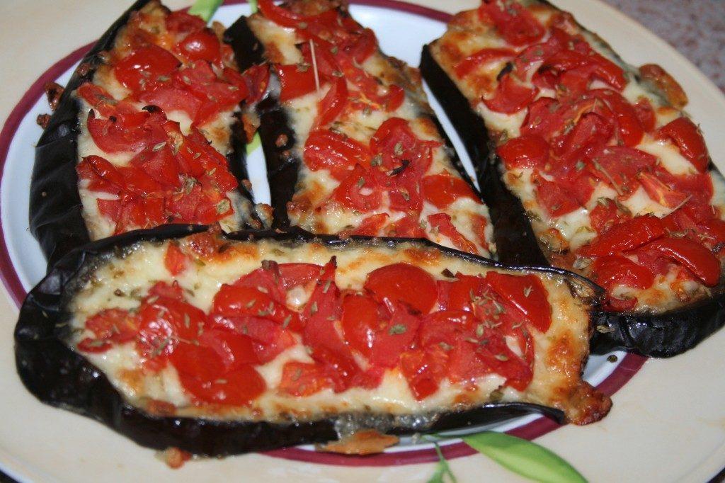 Melanzane al Forno con Mozzarella