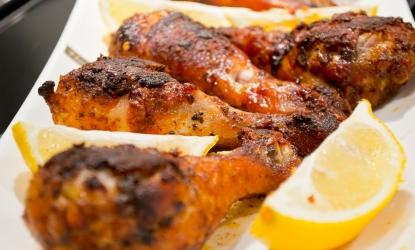 Coscio o Cosce di Pollo in Padella