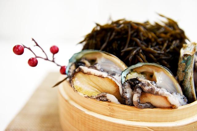 Abaloni molluschi prelibati