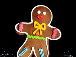 omino pan di zenzero o gingerbread cookies